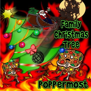 "Poppermost ""Family Christmas Tree"" cover art"