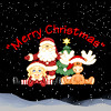 "Poppermost ""Merry Christmas"" song cover art"