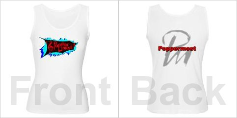 Official Poppermost logo women's tank top