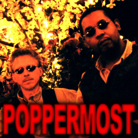Roy Rendahl and Alex Oliver of Poppermost at the Peppermill in Las Vegas